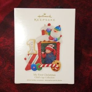 Hallmark Keepsake first Christmas ornament